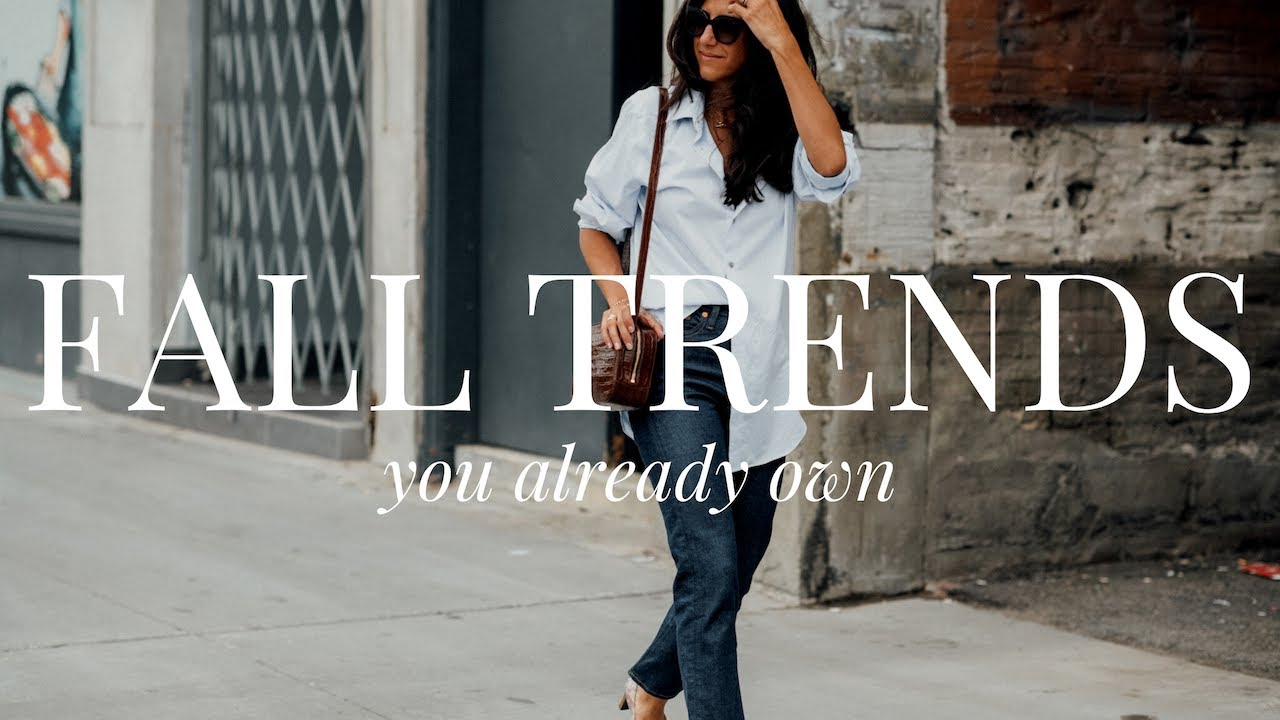 Fall Fashion Trends for 2021 That Are Already In Your Closet
