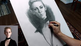 Portrait Drawing of Jessica