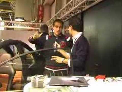 Motor Show 2007: Francesco Smirne di Rossocorsa (Carver One)
