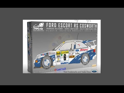 Domino Model/Tamiya 1/24 Ford Escort RS Cosworth Review/Comparsion