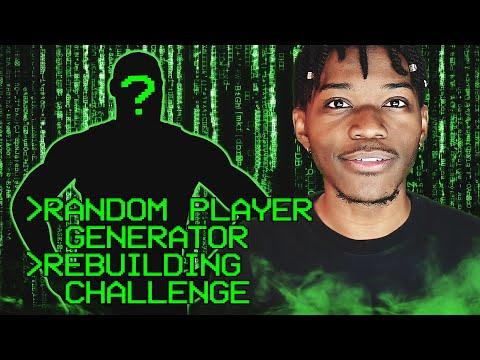 RANDOM PLAYER GENERATOR REBUILDING CHALLENGE IN NBA 2K20
