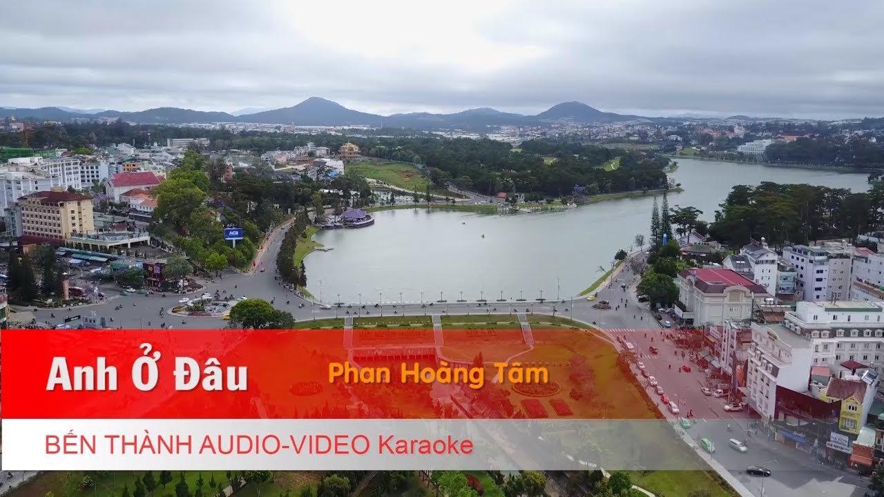 KARAOKE NHẠC TRẺ 2018 | Anh Ở Đâu - Phạm Hoàng Tâm | Beat Chuẩn