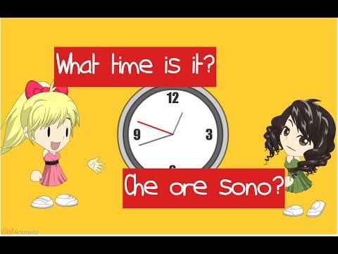 what time is it che ore sono youtube