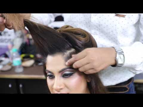Repeat Party Hair Style Step By Step Tutorial Open