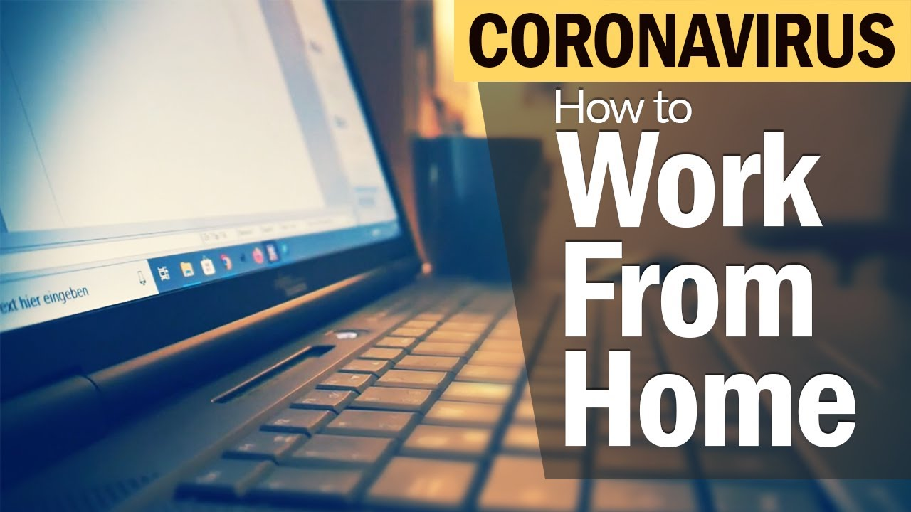 Coronavirus: How to Work from Home Successfully during Lock Down-  Watch Video