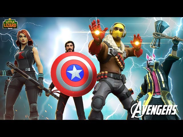 AVENGERS - END GAME!!! - Fortnite Short Films