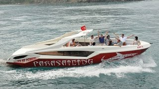 Parasailing Boat, Diving Boat, Party Boat All in One ''Explosion'' by Alesta Marine