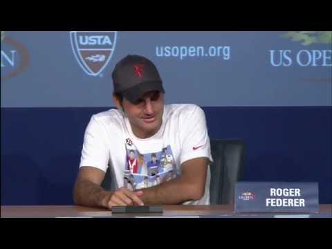 2011 US Open Press Conferences: Roger Federer (Semifinals)