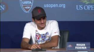 2011 US Open Press Conferences: Roger Federer (Semifinals)
