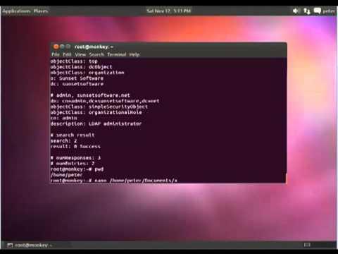 How to install OpenLDAP Server on Ubuntu - YouTube