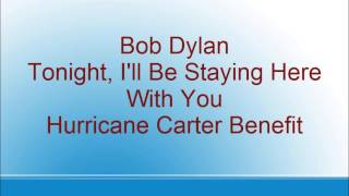 Bob Dylan - Tonight, I