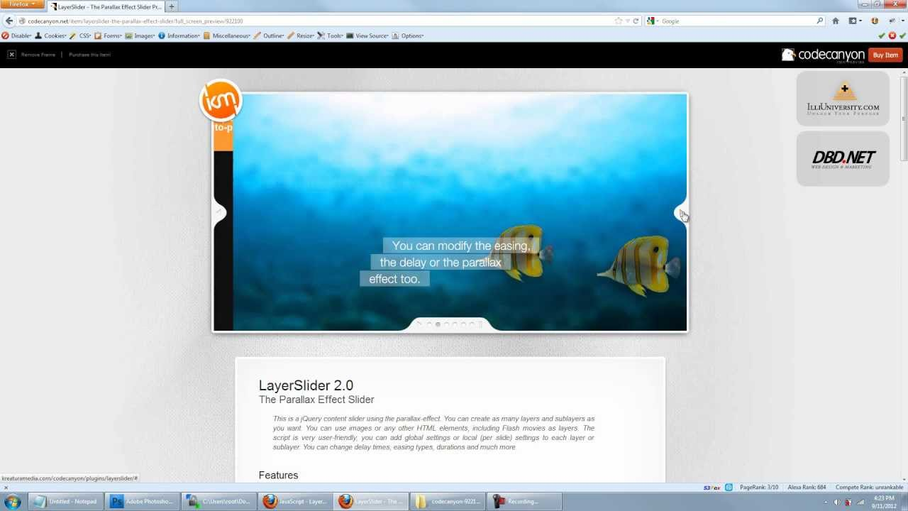 How To Make A Slideshow In Drupal 7 with LayerSlider Tutorial