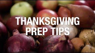 Thanksgiving Prep Tips from Martha Stewart