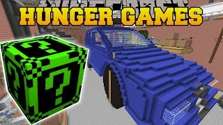 Minecraft: GARAGE HUNGER GAMES - Lucky Block Mod - Modded Mini-Game