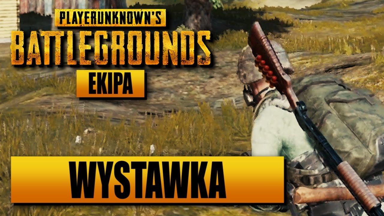 EKIPA PlayerUnknown's Battlegrounds – Grunt to dobrze się wystawić