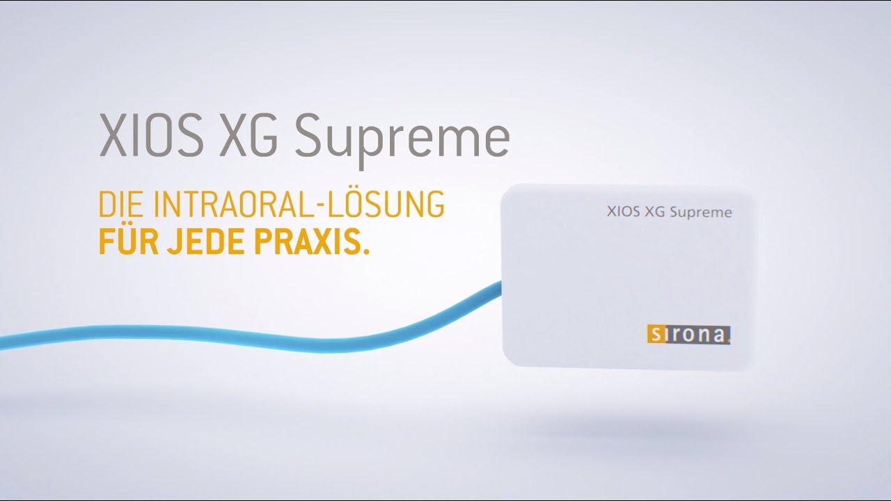 XIOS XG Supreme. Die Intraoral-Lösung für jede Praxis. - YouTube