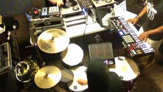 Keys N Krates - Promises (in studio rehearsal)