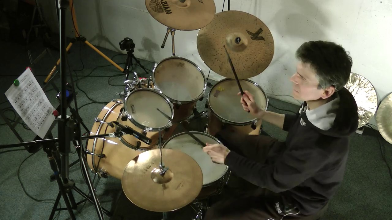 whiplash caravan drum sheet