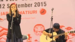 [LIVE] 07.09.2015 AYA Anjani - It's Gonna Rain Feat. Ega (Bonnie Pink Cover)