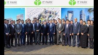 Президент Узбекистана 20 ноября 2019 года посетил ряд объектов в г.Ташкенте