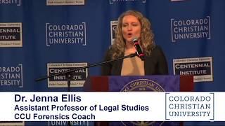 Religious Freedom Rally for Jack Phillips - Dr Jenna Ellis