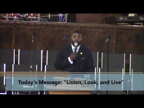"""Apostle Mark A. Haywood - """"Listen, Look, and Live"""" - SHIFT The World"""