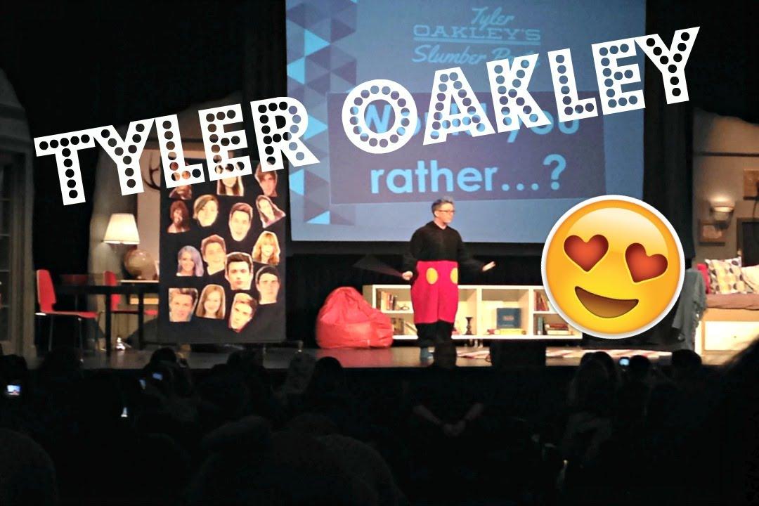 Tyler Oakley Slumber Party Tour