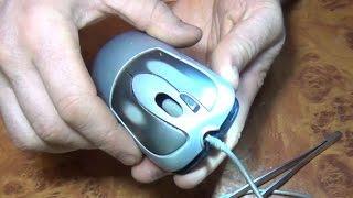 Ремонт левой кнопки мышки.