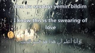Ben Bir Tek Adam Sevdim Lyrics Translate To English And Arabic