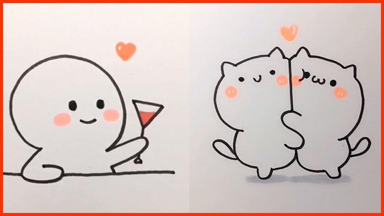 cách vẽ hình cute đơn giản - vẽ hình icon #10 mới nhất 2021 - Vẽ.vn
