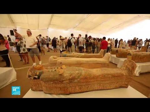 مصر تكتشف 30 تابوتا تعود لأكثر من 3 آلاف عام في وادي الملوك بالأقصر  - نشر قبل 3 ساعة
