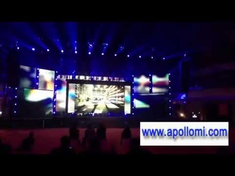 Ph6mm background stage rental led screen