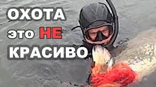Подводная охота - это НЕ красиво! Spearfishing - is not beautiful!