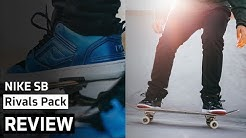 Nike SB Rivals Pack | Review + On-Feet | AFEW STORE (Jordan 11 Bred + Foamposite Penny)