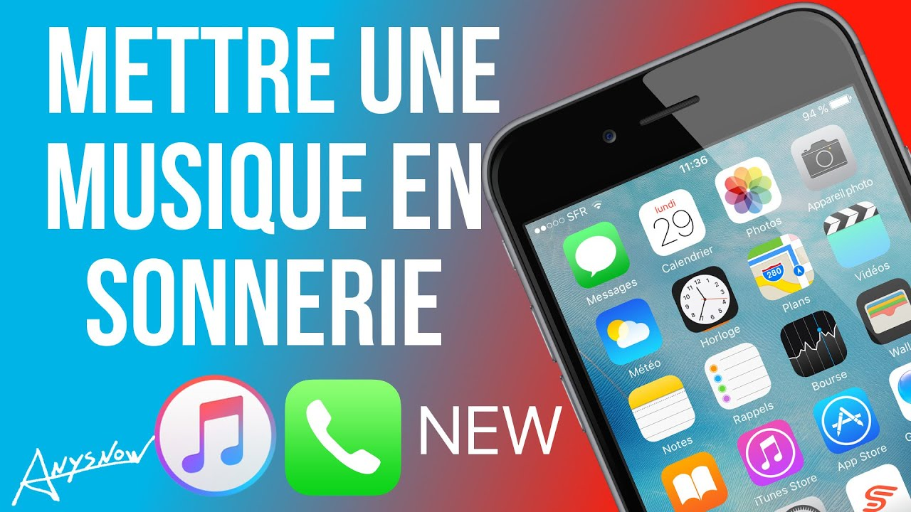 new mettre une musique en sonnerie sur iphone tutoriel avec la nouvelle version itunes. Black Bedroom Furniture Sets. Home Design Ideas