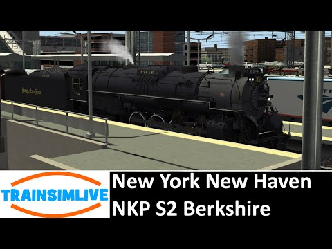Let's Play Train Simulator 2016 - New York New Haven, NKP S2 Berkshire