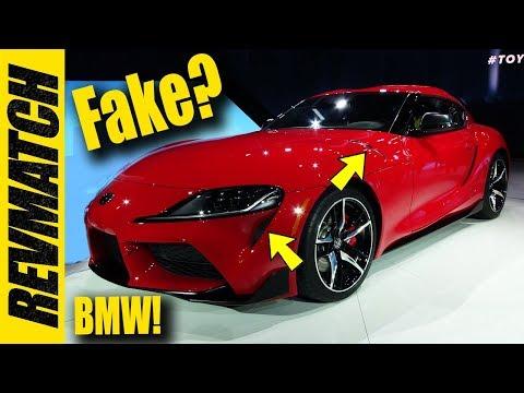 2020 Toyota Supra - Fake Vents?