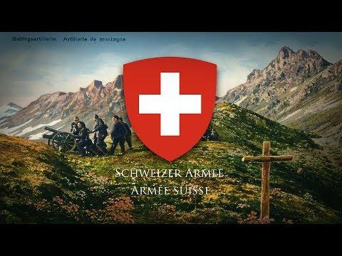 "Swiss Confederation (1815-) Military March ""Marignan"""