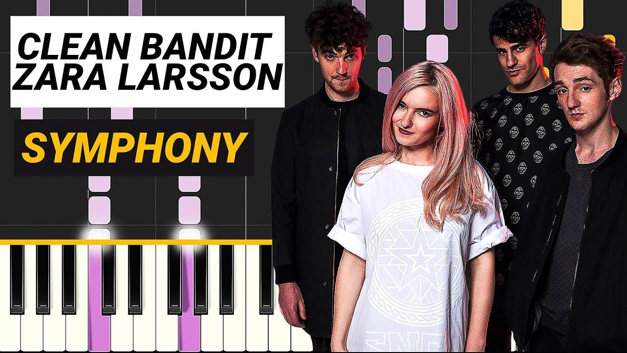 Clean Bandit Symphony Feat Zara Larsson Piano