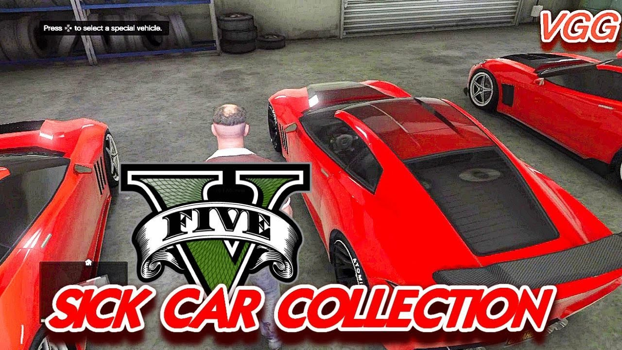 My Sick Car Collection In GTA V 5