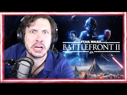 Let's Play Star Wars Battlefront II Beta (Feat. Jerky Game Footage)