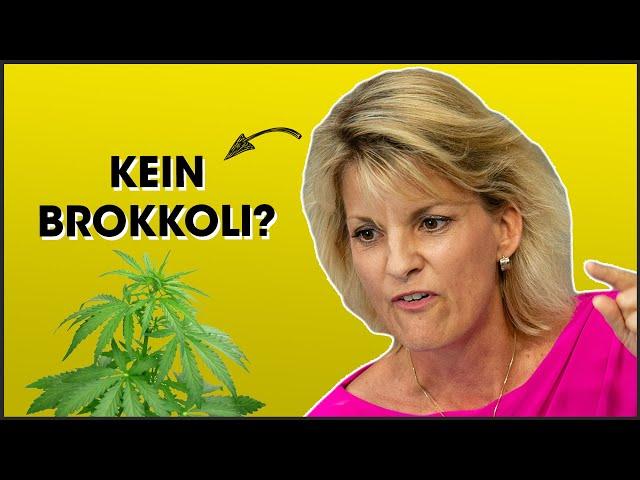 Cannabis & Brokkoli: Was macht eine Drogenbeauftragte?