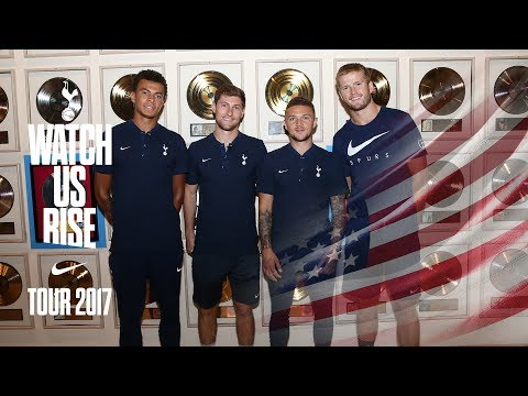 ALLI, DIER, DAVIES AND TRIPPIER AT THE HOME OF COUNTRY MUSIC