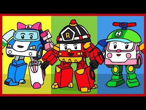 Ютуб мультфильм робокар поли и его друзья все серии подряд ютуб