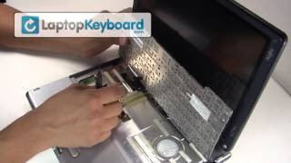 Fujitsu Lifebook Keyboard Installation Replacement Guide - Remove Replace Install Laptop Keyboard