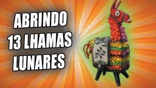 ABRINDO LHAMAS LUNARES no FORTNITE SALVE O MUNDO ( veio a bazuka )