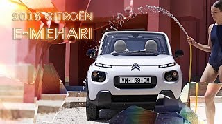 New 2018 Citroen E-Mehari All-Electric Crossover Specs And Prices