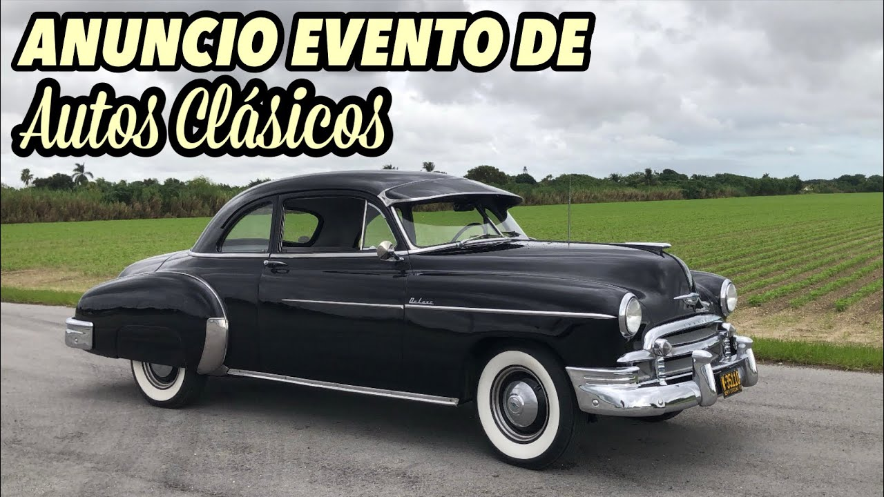 Show de autos clásicos que no se pueden perder próximo Sábado octubre 31