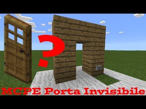 Come creare una porta invisibile su minecraft pe - Scassinare una porta ...