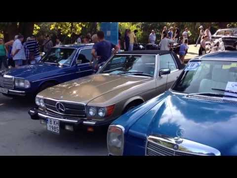 Retro Classic Cars Outfield Exhibition HD